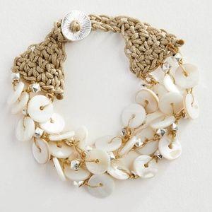 J. Jill - Sand & Sea Layered Bracelet